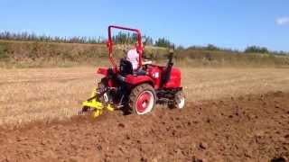 Siromer 204E in Ploughing match