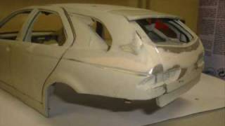 getlinkyoutube.com-Modellauto-Tuning AlfaRomeo GTA Kombi 1/18