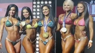 getlinkyoutube.com-Chicas Bikini Fitness Mr Olympia Moscu