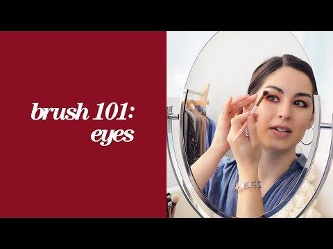 How-To: Eye Makeup Brush 101 | Nordstrom Beauty School