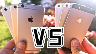 getlinkyoutube.com-iPhone 6 VS iPhone 5S - Is It Worth The Upgrade?