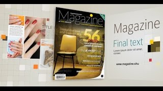 getlinkyoutube.com-Magazine | After Effects template
