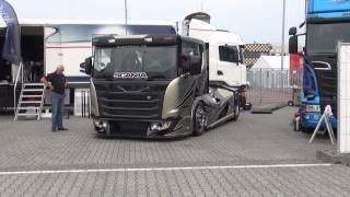 getlinkyoutube.com-scania road race truck CHIMERA bij truck festival Assen