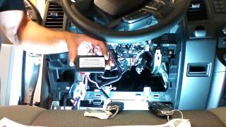 getlinkyoutube.com-2015-2016 Ford F150 Plug and Play remote start Installation