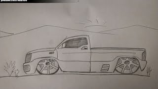 getlinkyoutube.com-How to draw a truck with rims