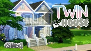 getlinkyoutube.com-The Sims 4 | House Build | Twin House (NO CC)