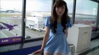 getlinkyoutube.com-ミニスカ女装娘 関空ベイサイドエリア (女装子)
