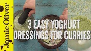 How To Make Raita 3 Ways | Awesome Yoghurt Dressings for Curries