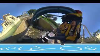 getlinkyoutube.com-Giroptic 360Cam, Pre-production 360 Degree Demo Video, Roller Coasters at Parc Asterix