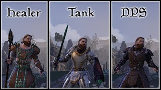 getlinkyoutube.com-Know Your Role - Understanding the Holy Trinity in The Elder Scrolls Online tank, DPS, and Healer