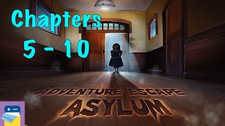getlinkyoutube.com-Adventure Escape Asylum: Chapters 5, 6, 7, 8, 9, 10 Walkthrough Guide & iOS / Android Gameplay