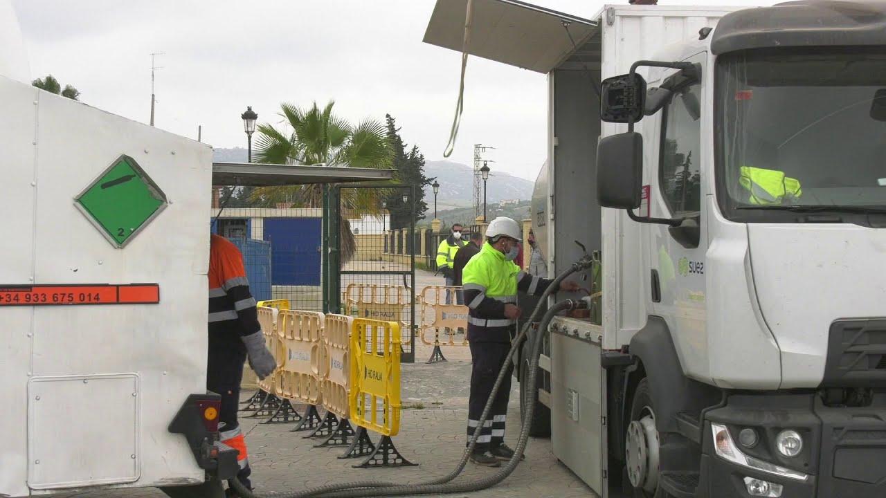 Trabajos de mantenimiento en los Pozos de agua potable