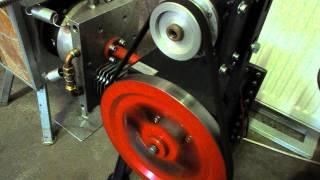 getlinkyoutube.com-Centrala termica cu arzator -soba racheta -dotata cu generator Stirling