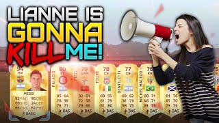 getlinkyoutube.com-LIANNE IS GONNA KILL ME - £100 PACK OPENING