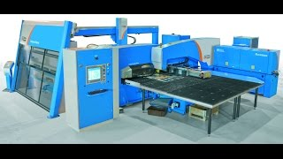 getlinkyoutube.com-TheCOMBI - Prima Power LPe6x Turret Punch Press + Laser Cutting Technology