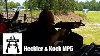 getlinkyoutube.com-MP5 Submachine Gun at Kavod Custom Range Day