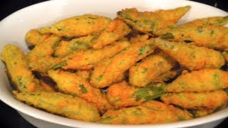 getlinkyoutube.com-Crunchy Fried Okra