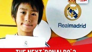 getlinkyoutube.com-Takuhiro Nakai - Next Ronaldo Real Madrid