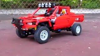 getlinkyoutube.com-Lego Technic: Baja 1000-Trophy Truck Mk.II