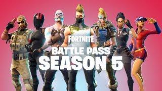 Fortnite - Battle Pass Season 5
