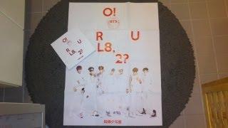 getlinkyoutube.com-Unboxing BTS (Bangtan Boys) 방탄소년단 1st Mini Album O!RUL8,2? (OH! ARE YOU LATE, TOO?)