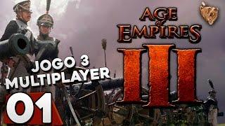 getlinkyoutube.com-Age of Empires 3 #3.01 Multiplayer Com inscritos! - Gameplay Português Vamos Jogar PT-BR