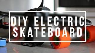 getlinkyoutube.com-Electric Skateboard Build Video | pt 1