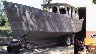 getlinkyoutube.com-12m Stahlboot selber bauen - Teil 1 - VideoGustav
