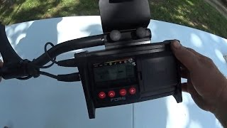 getlinkyoutube.com-Nokta Fors Core Metal detector In Depth Testing