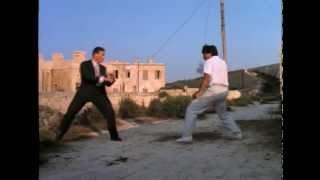 Jean-Claude-Van-Damme-vs-Sho-Kosugi-Black-Eagle-Aguila-Negra width=