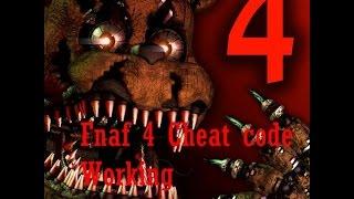 getlinkyoutube.com-FNaF 4 cheat code! Works