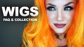 getlinkyoutube.com-WIGS: how to put them on, FAQ, where to get them, my collection