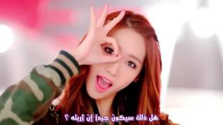getlinkyoutube.com-SNSD SNSD Lion Heart band song interpreter of Arabic (Arabic sub)