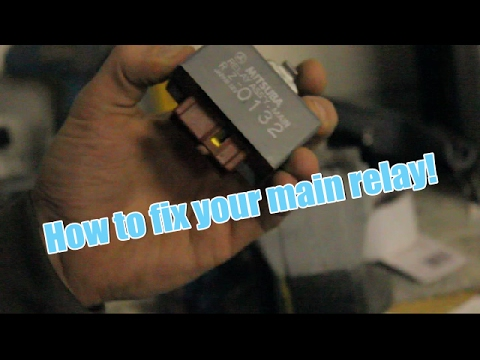 How to repair your Honda main fuel relay for free