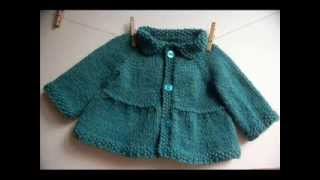 getlinkyoutube.com-Baby + Toddler Tiered Coat and Jacket - Knitting Pattern Presentation