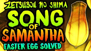 getlinkyoutube.com-NEW ZETSUBOU NO SHIMA EASTER EGG SOLVED!! Samantha's Song (Melody Bulbs Second Song Easter Egg)