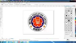 getlinkyoutube.com-Cara Membuat Logo di CorelDraw X4