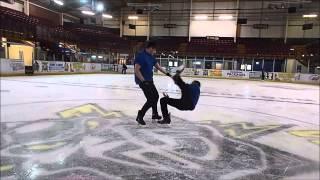 getlinkyoutube.com-Birmingham Ice Freestylers - Team Skate AFTER ITV INTERVIEWS