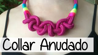 getlinkyoutube.com-NUEVO COLLAR ANUDADO - KNOTTED NECKLACE