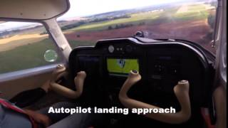 TL 3000 Sirius with Garmin G3X - full automatic landing approach