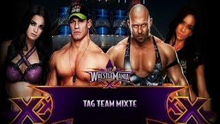 getlinkyoutube.com-Tag Team Mixte Match, John Cena & Paige vs Ryback & AJ Lee [WWE 2K15]