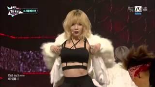 getlinkyoutube.com-131107 Trouble Maker - Now - M Countdown - Hyuna & Hyunseung