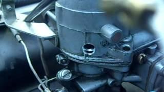 Carburator modification for easier engine-start on LPG