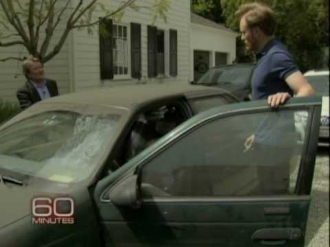 Leno isn't the only auto man- Conan takes 60 Minutes for a ride in his dusty '92 Taurus SHO