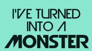 getlinkyoutube.com-Imagine Dragons - Monster (Lyrics on Screen)