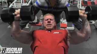 getlinkyoutube.com-Dennis Wolf Chest Workout 2013