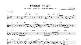 Roy Hargrove - Strasbourg - St.  Denis LIVE Trumpet Solo