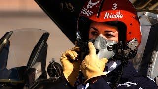 First Female Thunderbird Pilot - U.S. Air Force