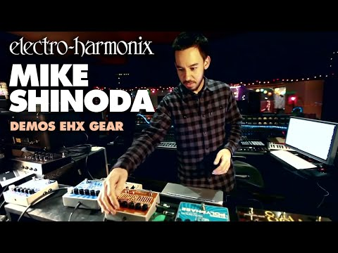 Linkin Park's, Mike Shinoda, demos EHX gear