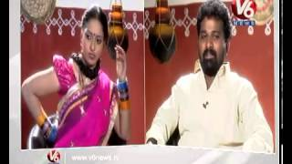 getlinkyoutube.com-Teenmar Racha Ramulamma || Interview With Singer Gidde Ram Narsaiah || V6 News